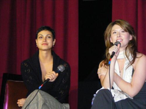Morena Baccarin and Jewel Staite