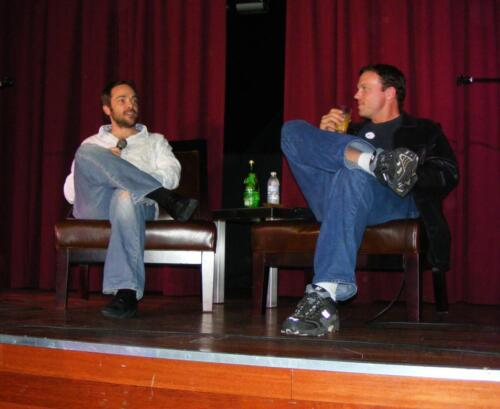 Mark Sheppard and Adam Baldwin