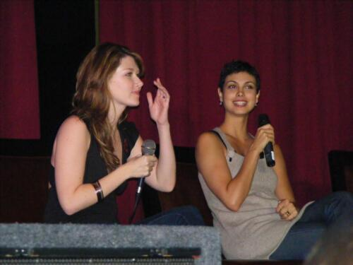 Jewel Staite and Morena Baccarin