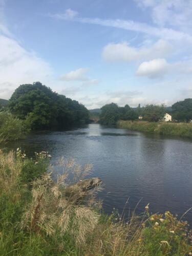 Goit Stock Falls Hike: River Aire