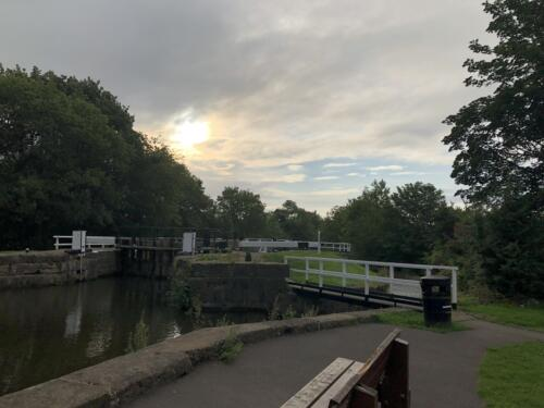 Bradford Millennium Way: Hirst Wood Locks