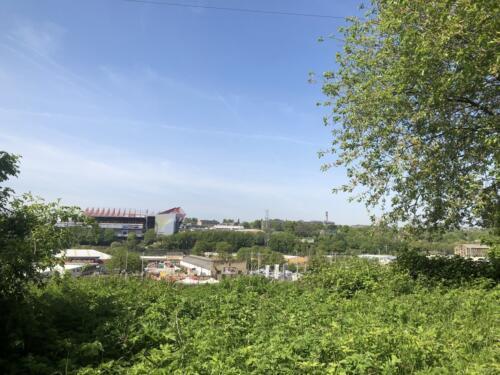 Dalesway Link Hike: View of Bradford