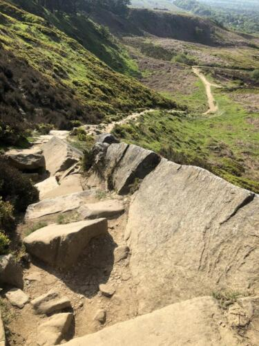 Dalesway Link Hike: Ilkley Craggs