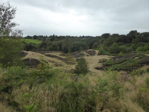 Bradford Millennium Way: Quarry at Shipley Glen
