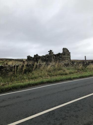 Bradford Millennium Way: Ruin on Otley Road