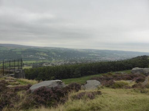 Bradford Millennium Way: Views from Addingham High Moor