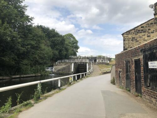 Norr Hill Hike: Dobson Locks on the Leeds Liverpool Canal